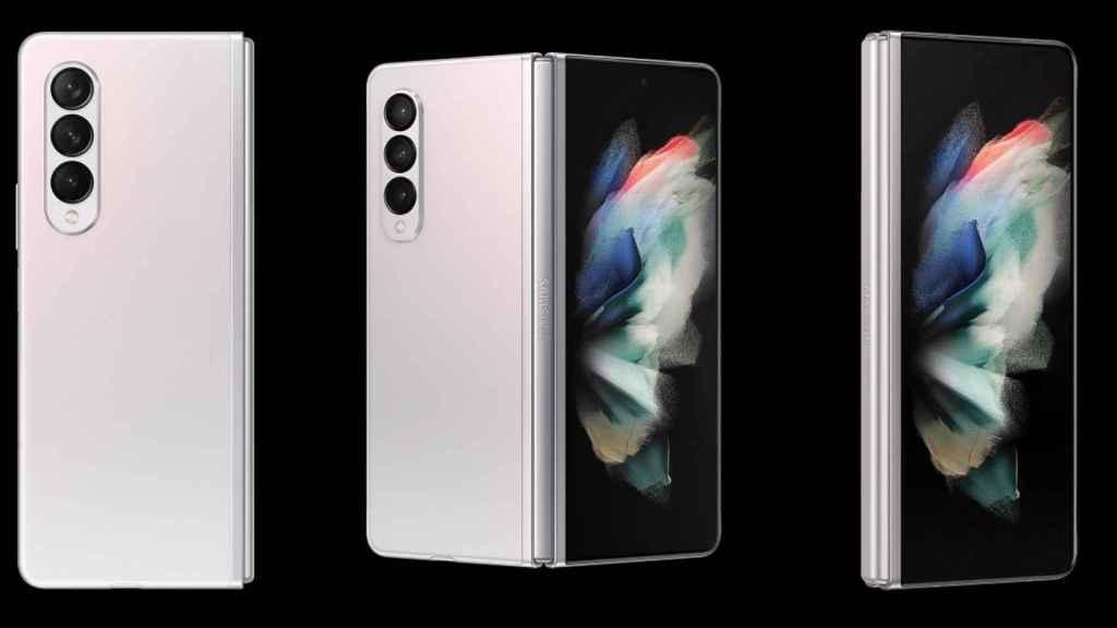 El Samsung Galaxy Z Fold 3 muestra su diseño al completo en nuevas fotos