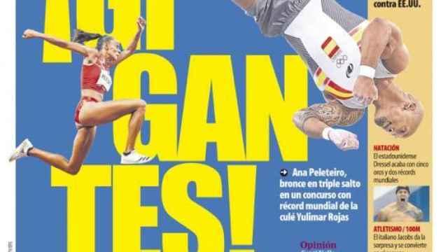 Portada Mundo Deportivo (02/08/21)