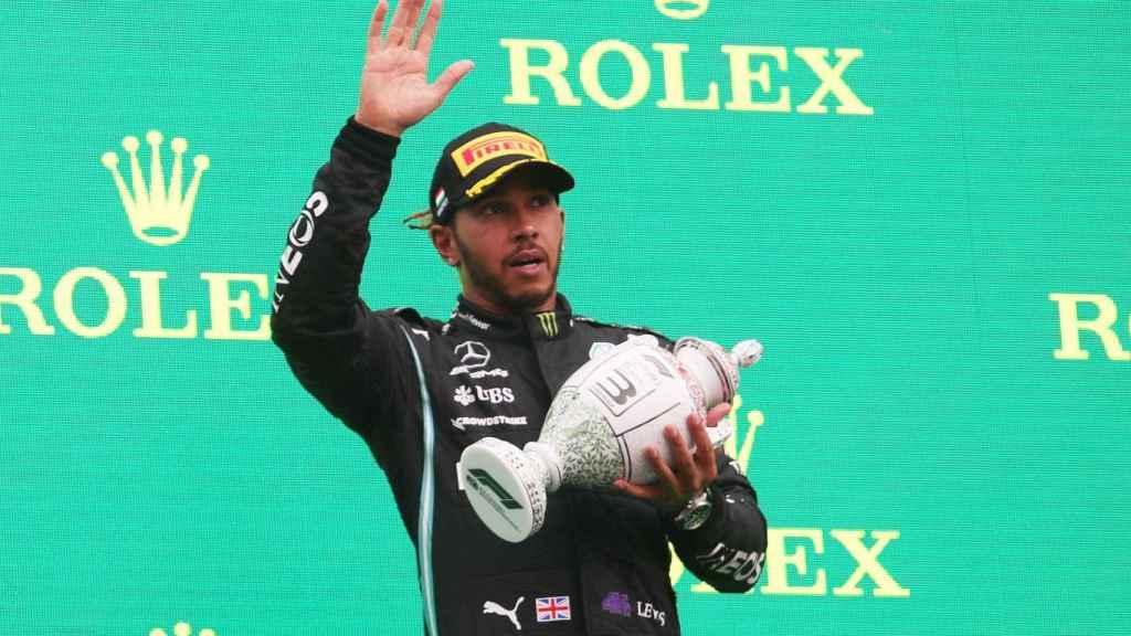 Lewis Hamilton, en el Gran Premio de Hungría de F1