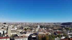Vista panorámica de Huete (Cuenca).