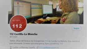 El 112 de Castilla-La Mancha tiene ya más de 8.000 seguidores en Twitter