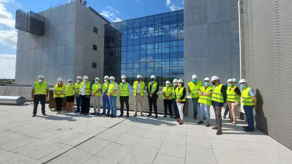 Obras del nuevo hospital de Cuenca