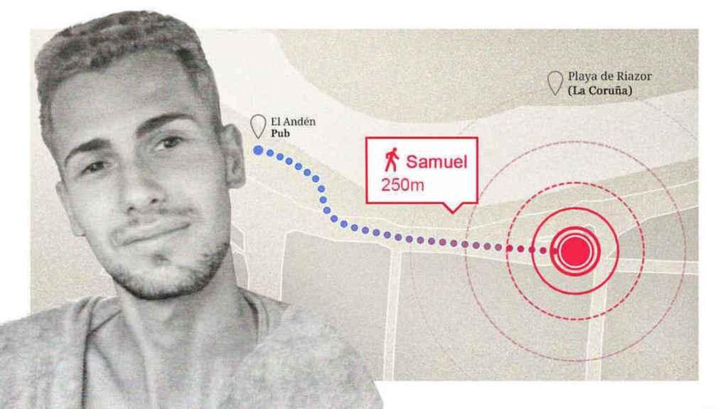 Los asesinos de Samuel lo persiguieron 250 metros y le golpearon durante 15 minutos hasta matarlo.