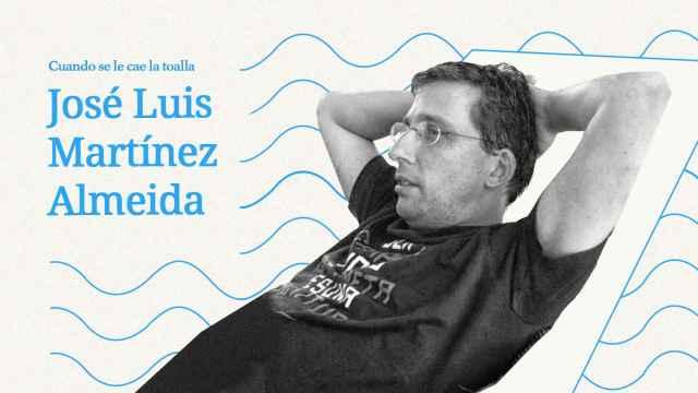 José Luis Martínez Almeida: No uso toalla; me seco al natural, paseando por la orilla