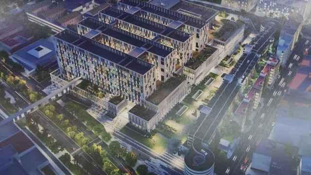 Así será el tercer hospital de Málaga