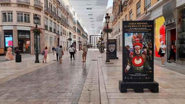 Imagen de la Calle Larios de Málaga