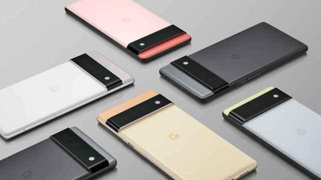 Diseño del Pixel 6