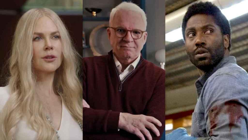 'Nine Perfect Strangers', 'Solo asesinatos en el edificio' y 'Beckett' son algunos de los estrenos más esperados en agosto de 2021.