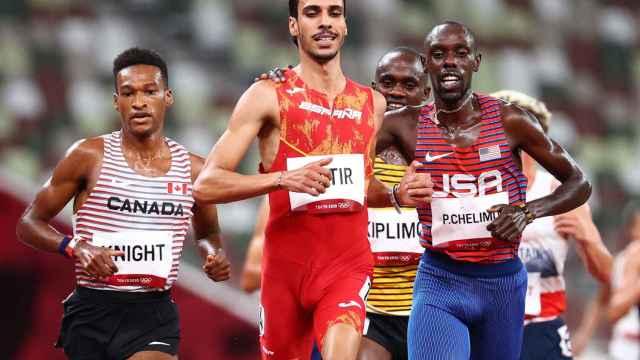 Mo Katir, en los Juegos Olímpicos