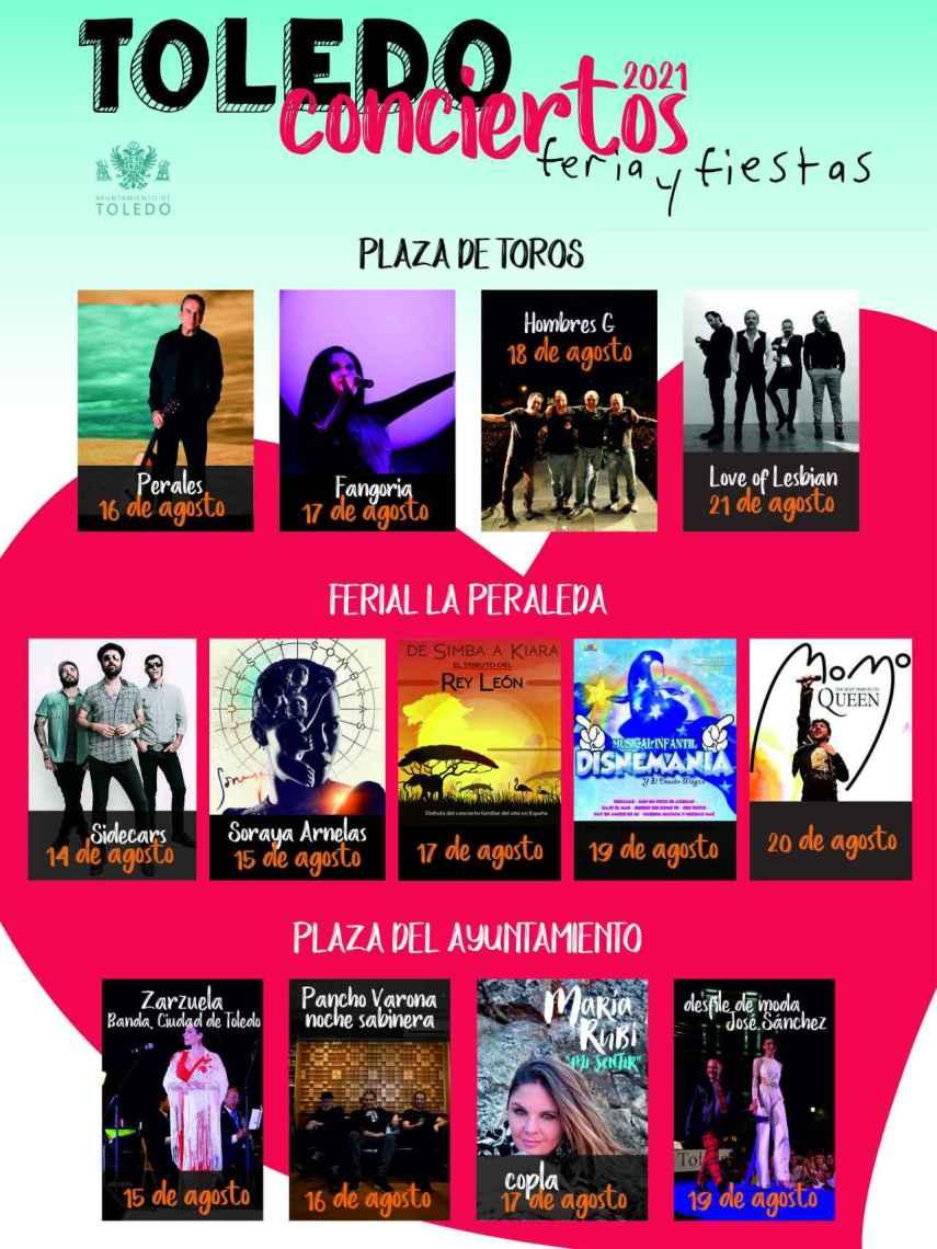 Cartel de las Ferias de Agosto de Toledo