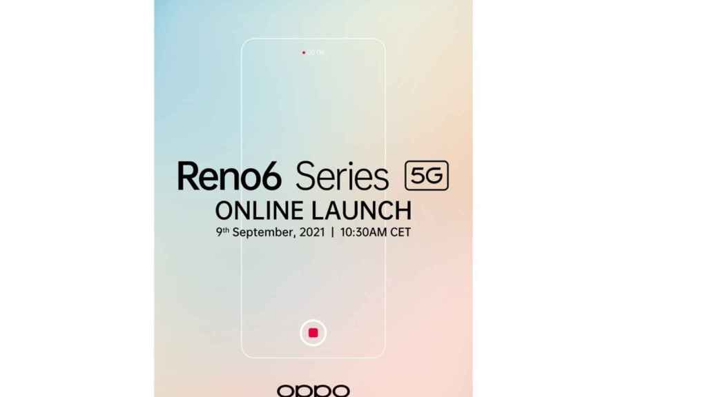 OPPO Reno 6 presentacion