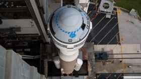 Boeing Starliner a lo alto del Atlas V