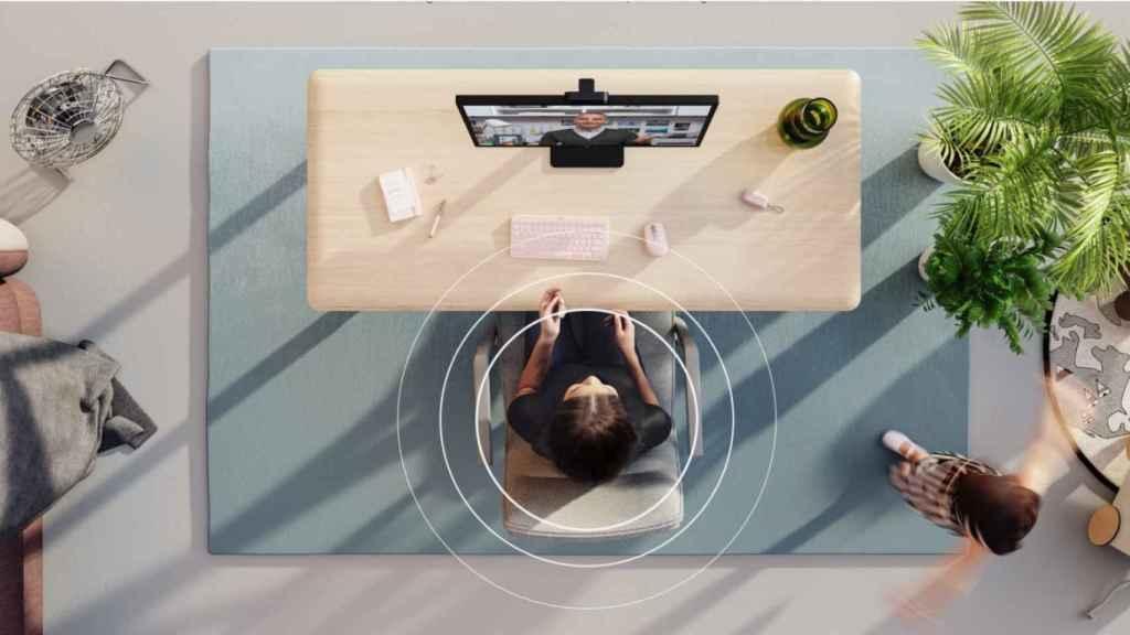 Logitech Zone True Wireless videollamadas