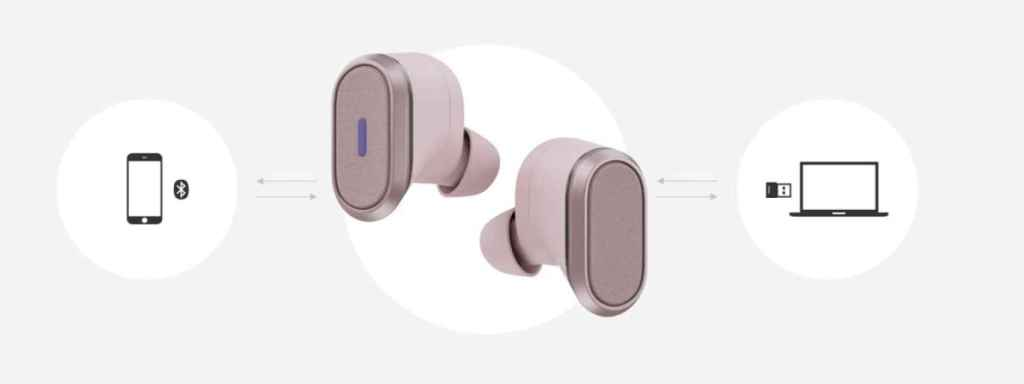 Logitech Zone True Wireless conectividad