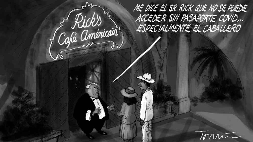 Pasaportes en Casablanca.