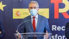 Nacho Valverde  ICAL . El delegado del Gobierno en Castilla y León, Javier Izquierdo