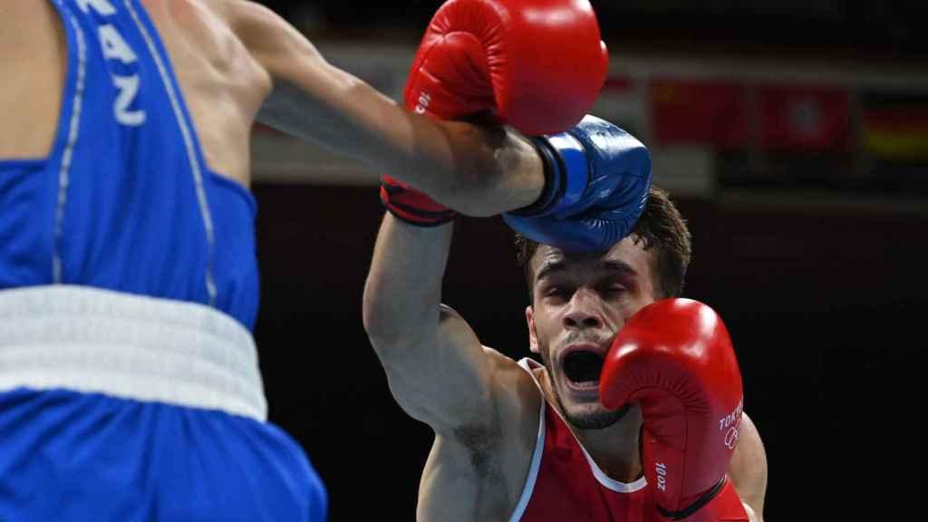 Gabriel Escobar, en los Juegos Olímpicos