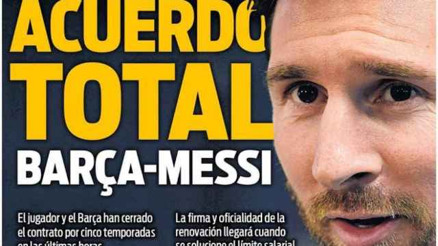Portada Sport (03/08/21)