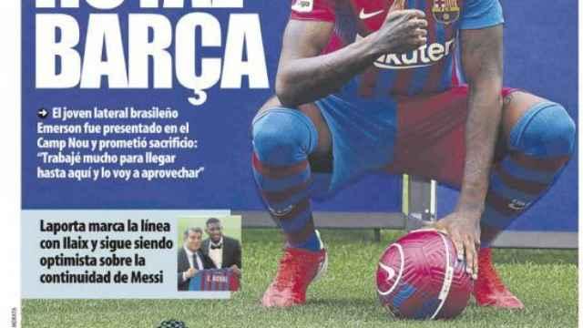 Portada Mundo Deportivo (03/08/21)