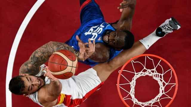 Las mejores imágenes del España - Estados Unidos de baloncesto de los Juegos Olímpicos de Tokio 2020