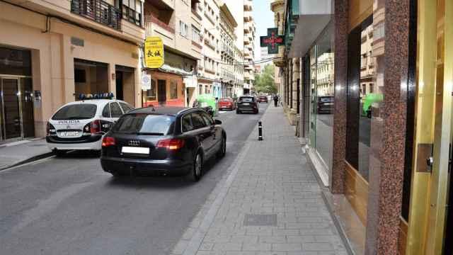 Calle Salamanca en Albacete.