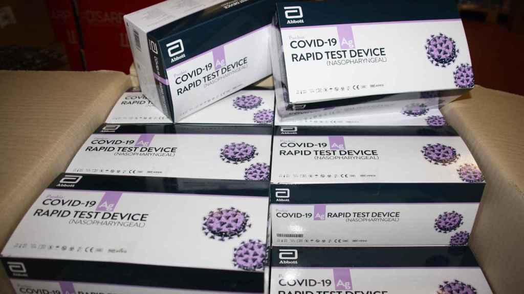 Test de autodiagnóstico de la Covid.