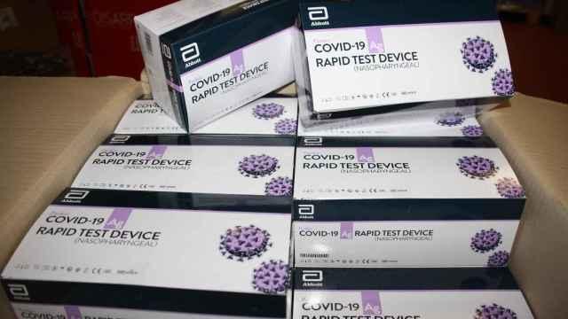 La venta de test de antígenos se dispara: