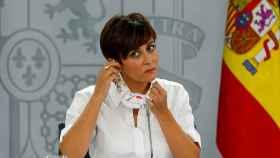 La ministra de Política Territorial y portavoz del Gobierno, Isabel Rodríguez.