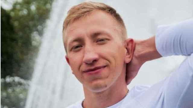 El opositor bielorruso Vitaly Shishov.