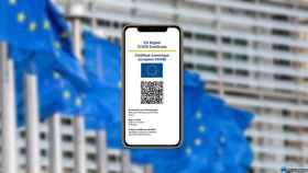 Certificado COVID en un iPhone