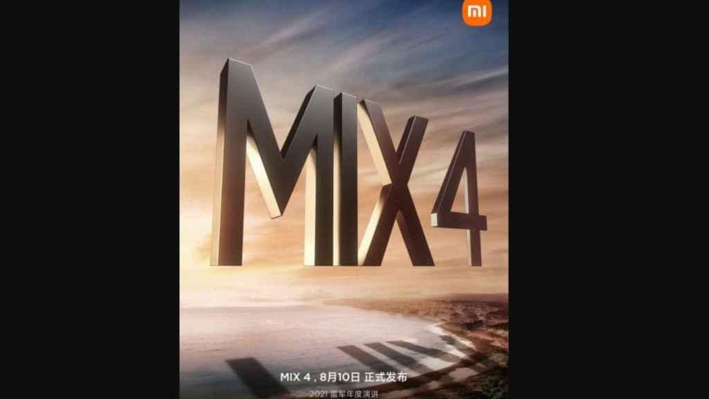 Xiaomi Mi MIX 4 presentacion