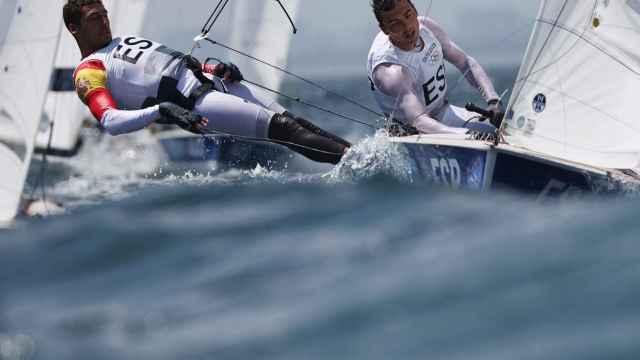 Jordi Xammar y Nico Rodríguez, en los Juegos Olímpicos