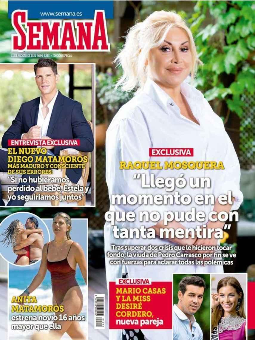 Anita, portada de la revista 'Semana'.