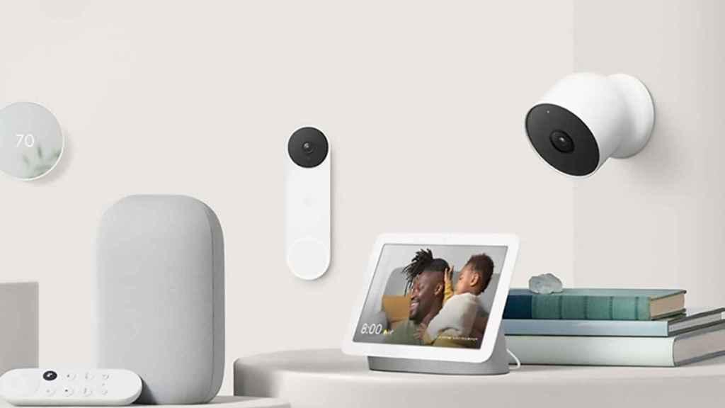 Google Nest dispositivos
