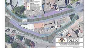 Casi tres millones de euros para renovar una de las arterias del Casco Histórico de Toledo