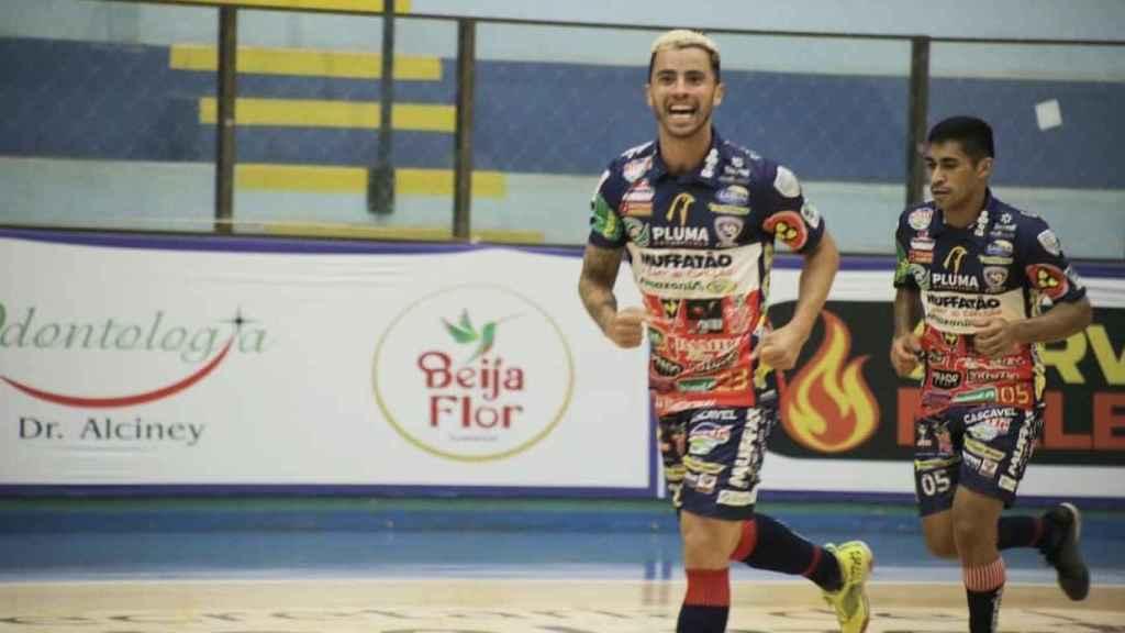 Humberto Ribeiro, samba brasileña para el Manzanares FS