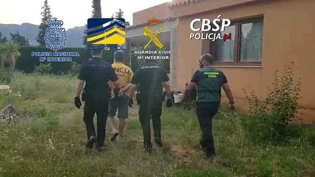 Operación policial combinada en Dénia.