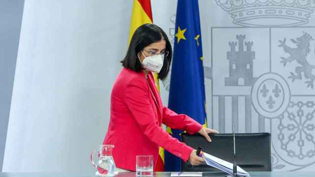 La ministra de Sanidad, Carolina Darias / EP