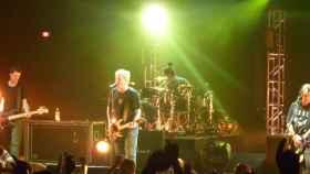 The Offspring durante una actuación en Londres en 2009.