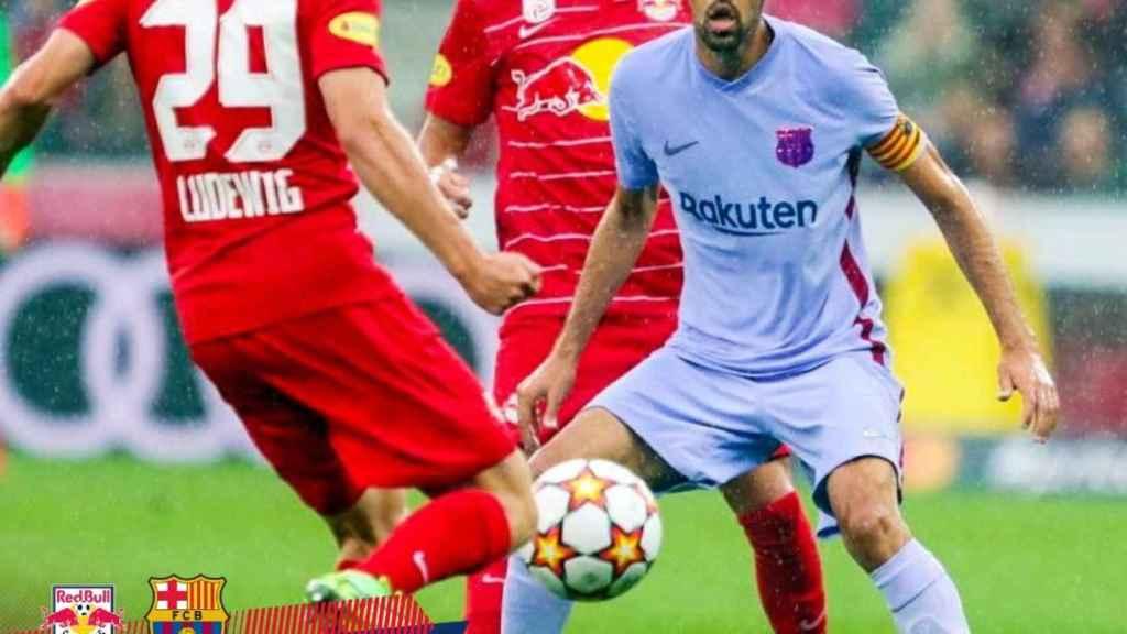 Amistoso entre Red Bull Salzburgo y Barcelona