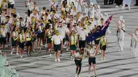 Australia durante la ceremonia de apertura de los Juegos Olímpicos
