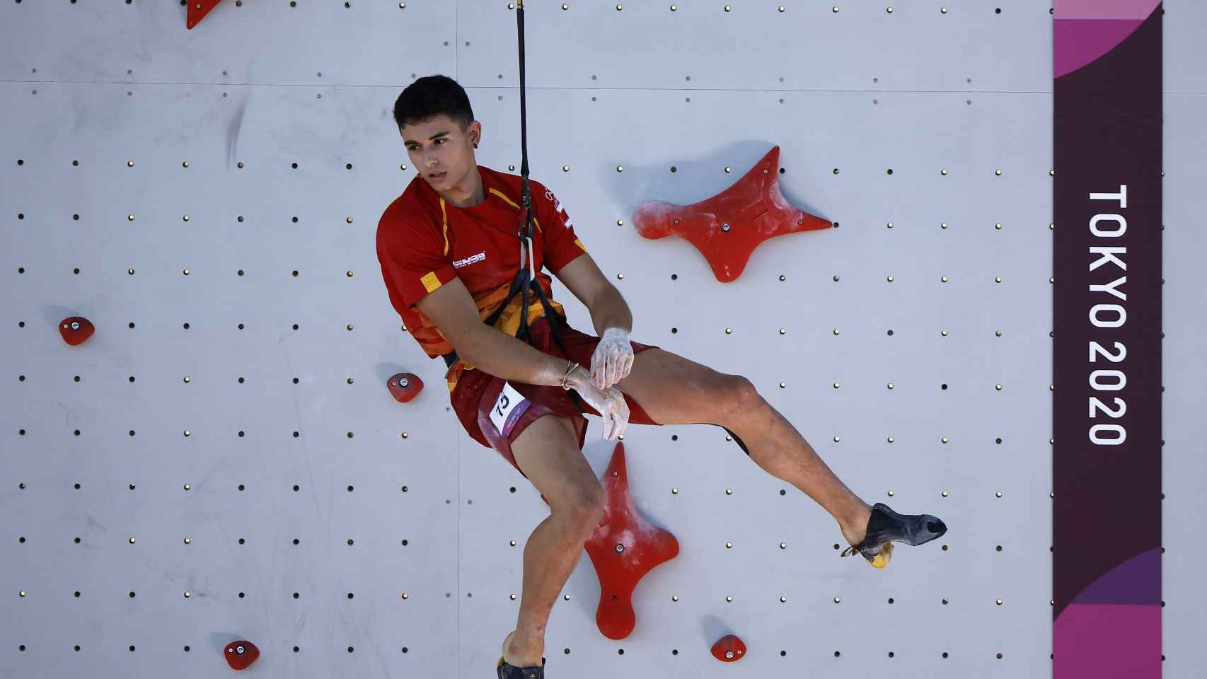 Alberto Ginés en los Juegos Olímpicos de Tokio 2020