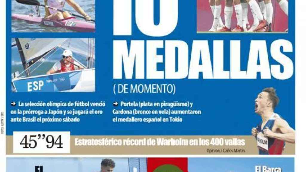 Portada Mundo Deportivo (04/08/21)