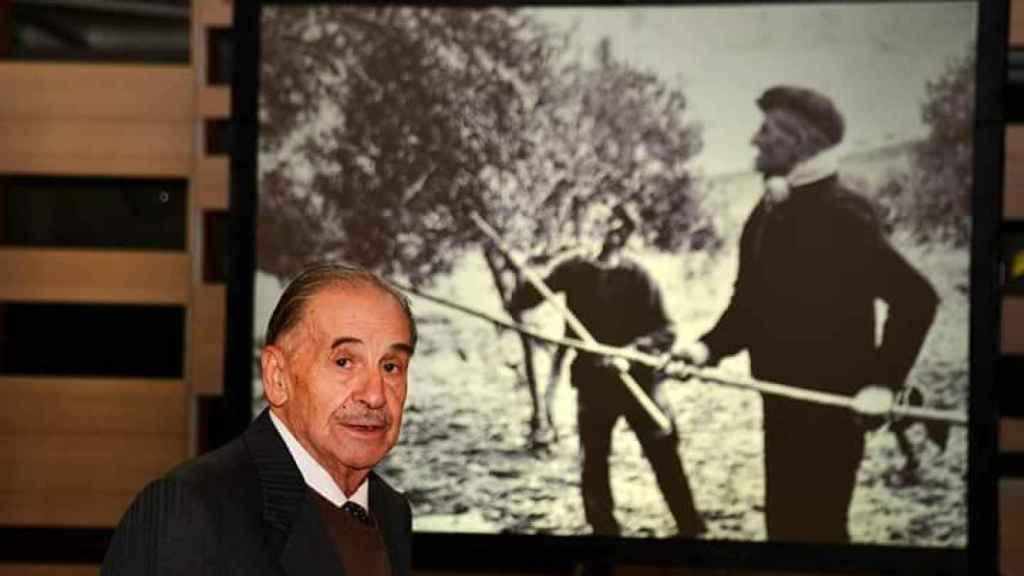 Santiago Bernal en una imagen de archivo. Foto: Asociación de Amigos del Archivo Histórico Provincial de Guadalajara.