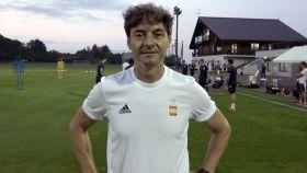 Santi Denia, segundo entrenador de la Selección Española en los JJOO