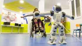 Inrobics, el robot toledano que ayudará a niños con lesiones medulares jugando