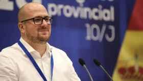 Lucas Castillo, presidente del PP de Guadalajara