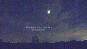 Una bola de fuego sobrevuela Castilla-La Mancha