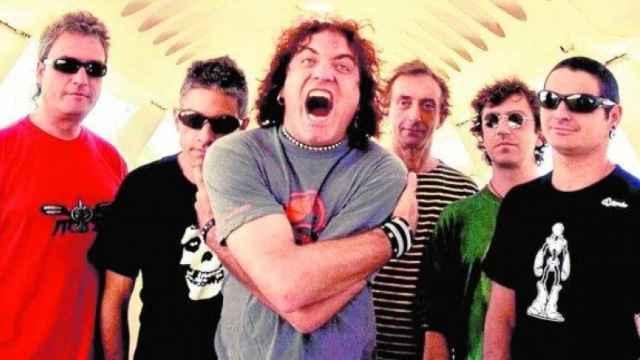 El grupo de rock Reincidentes