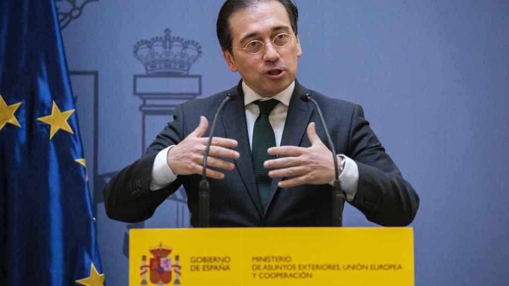 José Manuel Albares, ministro de Asuntos Exteriores, Unión Europea y Cooperación.